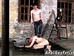 Fem boys having gay sex and bondage masturbation tips Chained to the