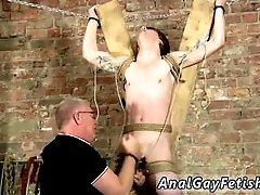 Naked gay men bondage movieture Another Sensitive Cock Drained