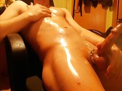 Oily Masturbation