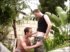 Hot little twink loves fucking outdoor