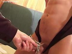 Bondage Handjob