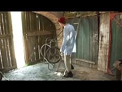 Old School Bate In The Barn