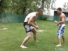 Ben vs Pierre - Wrestling
