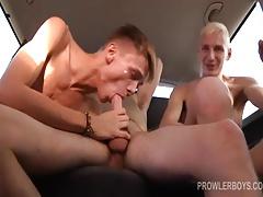Reece and Stephan Fuck Young Matt