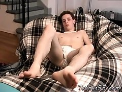 Big feet match huge cock young boyfriend and bare feet boys naked and one