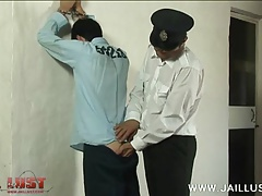 Yummy boy getting wildly abused in the slammer