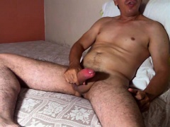 RUBBING on BODY AND MY COCK
