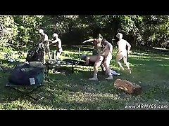 Naked young soldier gay twinks Taking the recruits on their very