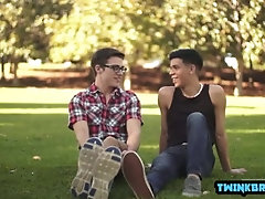 Latin twinks anal rimming and ass creampie
