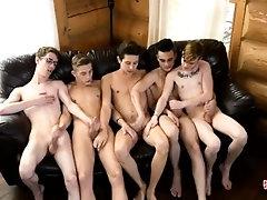 Skinny boyz hot orgy