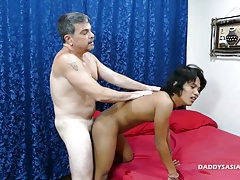 Daddy Barebacks Asian Twink Russel