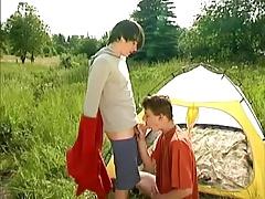 Roman and Josh Outdoor Sex
